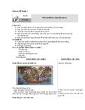 Bài 20: Vẽ tranh: Đề tài Ngày hội quê em - Giáo án Mỹ thuật 4 - GV.Phạm Hồng Thái