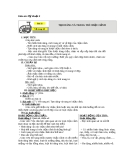 Bài 32: Tạo dáng và trang trí chậu cảnh - Giáo án Mỹ thuật 4 - GV.Phạm Hồng Thái