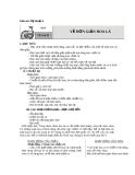 Bài 9: Vẽ trang trí: Vẽ đơn giản hoa lá - Giáo án Mỹ thuật 4 - GV.Phạm Hồng Thái
