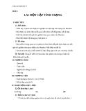 Giáo án Sinh học 9 bài 2: Lai một cặp tính trạng