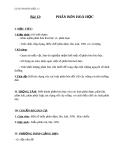 Giáo án Hóa học 11 bài 12: Phân bón hóa học