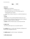 Giáo án Hóa học 12 bài 1: Este