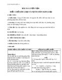 Giáo án Hóa học 12 bài 23: Luyện tập điều chế kim loại và sự ăn mòn kim loại