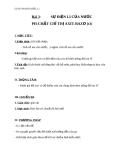 Giáo án Hóa học 11 bài 3: Sự điện li của nước. pH. Chất chỉ thị axit bazo