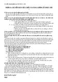 Tài liệu tham khảo môn Sinh vật HK 1 lớp 11