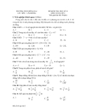 9 Đề kiểm tra HK2 môn Toán lớp 6
