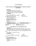 Giáo án bài Vẽ tiếp hoạ tiết và vẽ màu vào hình chữ nhật - Mỹ thuật 3 - GV.Bùi Vũ Cầu