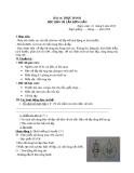 Giáo án Công nghệ 8 bài 14: Đọc bản vẽ lắp đơn giản