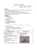 Giáo án Công nghệ 8 bài 20: Dụng cụ cơ khí