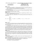 Đề thi học sinh giỏi Hóa lớp 9 năm 2012 - 2013