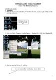 Hướng dẫn sử dụng phần mềm ( Giác mẫu & Đi sơ đồ Lectra)