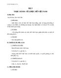 Giáo án Địa lý 12 bài 3: Thực hành vẽ lược đồ Việt Nam