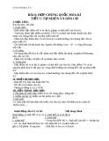 Giáo án bài 6: Hợp chủng quốc Hoa Kỳ - Địa 11 - GV.N T Minh