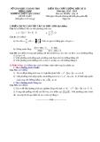 Đề KTCL HK2 Toán 10 - THPT Cao Lãnh 2 2012-2013 (kèm đáp án)