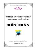 Tài liệu ôn thi Tốt nghiệp THPT Toán 12 - Sở GD&ĐT Đồng Tháp