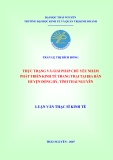 Luận văn thạc sĩ kinh tế: Thực trạng và giải pháp chủ yếu nhằm phát triển kinh tế trang trại tại địa bàn huyện Đồng Hỷ, tỉnh Thái Nguyên