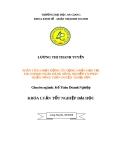 Luận văn kế toán doanh nghiệp: Phân tích hoạt động tín dụng ngắn hạn tại chi nhánh ngân hàng Nông nghiệp và Phát triển Nông thôn huyện Thoại Sơn