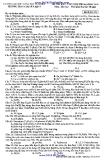 Đề thi khảo sát chất lượng lớp 12 dự thi đại học 2014 - Mã đề 179 (ĐH KHTN Trường THPT Chuyên KHTN)