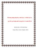 SKKN: Phương pháp giúp HS lớp 1 vẽ hình tự tin
