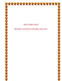 SKKN: Một số biện pháp rèn phát âm chuẩn cho học sinh lớp 1