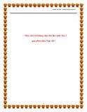 SKKN: Rèn chữ viết đúng, đẹp cho học sinh lớp 2 qua phân môn Tập viết