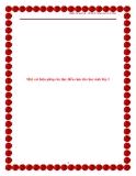 SKKN: Rèn đọc diễn cảm cho học sinh lớp 3