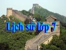 Bài giảng Lịch sử 7 bài 10: Nhà Lý đẩy mạnh công cuộc xây dựng đất nước