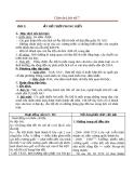 Giáo án Lịch sử 7 bài 5: Ấn Độ thời phong kiến