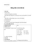 Giáo án bài Bảng đơn vị đo độ dài - Toán 3 - GV.Ng.P.Hùng