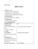Giáo án bài Bảng chia 9 - Toán 3 - GV.Ng.P.Hùng