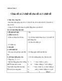 Giáo án bài Chia số có 2 chữ số cho số có 1 chữ số - Toán 3 - GV.Ng.P.Hùng