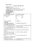 Giáo án bài Làm quen với chữ số La Mã - Toán 3 - GV.Ng.P.Hùng
