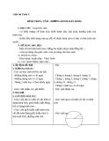Giáo án bài Hình tròn, tâm, đường kính, bán kính - Toán 3 - GV.Ng.P.Hùng