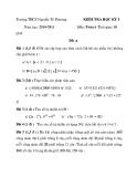 Tổng hợp đề kiểm tra học kì 1 môn Toán lớp 6 năm 2010-2011 - Trường THCS Nguyễn Tri Phương