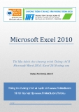 Microsoft Excel 2010  Chứng chỉ B