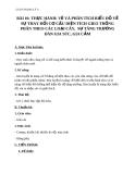 Giáo án bài 10: Thực hành vẽ và phân tích biểu đồ  - Địa 9 - GV.N T Bình