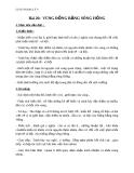 Giáo án Địa lý 9 bài 20: Vùng Đồng bằng sông Hồng