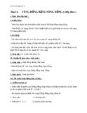 Giáo án Địa lý 9 bài 21: Vùng Đồng bằng sông Hồng (tt)