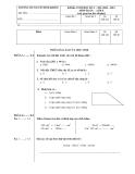 Đề kiểm tra cuối HK1 Toán và Tiếng Việt 4 - Trường TH Nguyễn Bỉnh Khiêm (2010-2011)