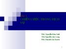 Bài giảng Quản trị dịch vụ: Bài 3 - ThS. Nguyễn Kim Anh
