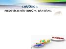 Bài giảng Quản trị bán hàng: Chương 1 - GV.Ng.Khánh Trung