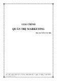 Giáo trình Quản trị marketing - ThS. Nguyễn Văn Thi