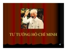 Bài giảng Tư tưởng Hồ Chí Minh về vấn đề dân tộc và cách mạng giải phóng dân tộc