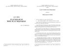 Giáo trình Luật hải quan thuế xuất nhập khẩu - TS Vũ Thúy Hòa