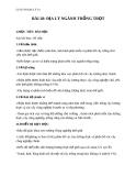 Giáo án Địa lý 10 bài 28: Địa lý ngành trồng trọt
