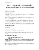 Giáo án Địa lý 10 bài 5: Vũ trụ, hệ mặt trời và Trái Đất. Hệ quả chuyển động tự quay quanh trục của Trái Đất
