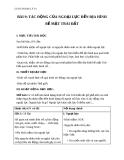 Giáo án Địa lý 10 bài 9: Tác động của ngoại lực đến địa hình bề mặt trái đất