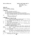 Đề KTCL HK1 Lý 10 - THPT Thiên Hộ Dương 2012-2013 (kèm đáp án)
