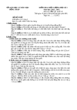 Đề KTCL HK1 Lý 10 - THPT Trần Văn Năng 2012-2013 (kèm đáp án)