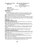 Đề KTCL HK1 Lý 10 - THPT Đỗ Công Tường 2012-2013 (kèm đáp án)